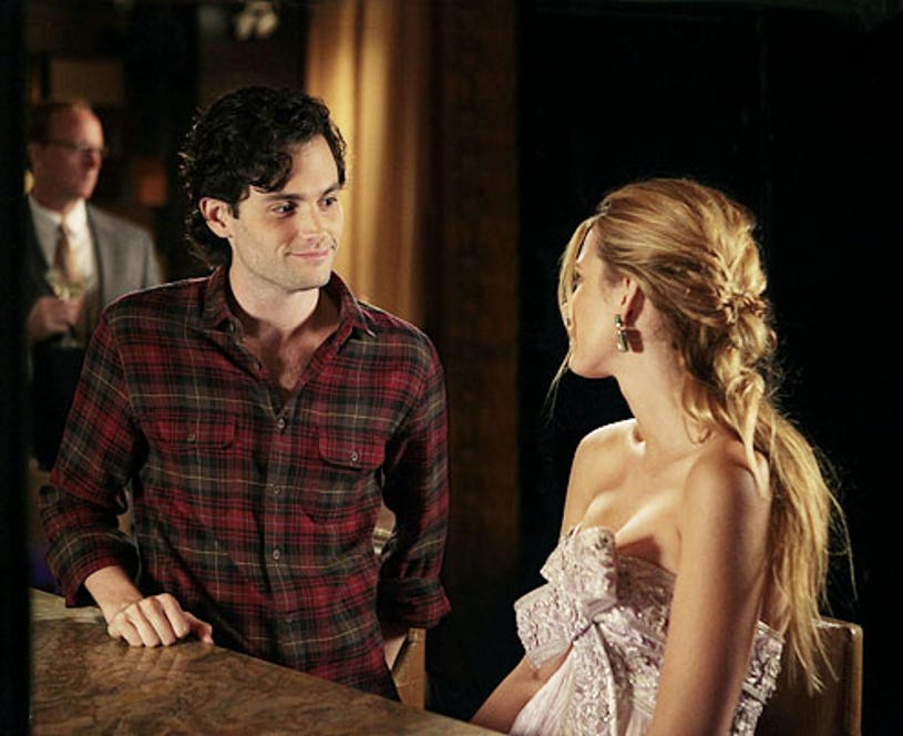 """Gossip Girl - Season 5 - """"Riding in Town Cars with Boys"""" - Penn Badgley and Blake Lively"""