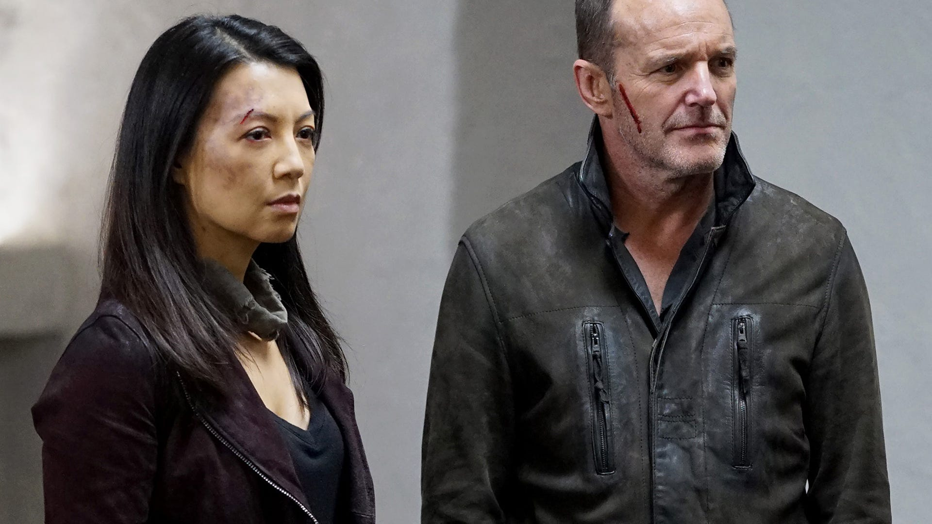 Ming-Na Wen and Clark Gregg, Marvel's Agents of S.H.I.E.L.D.