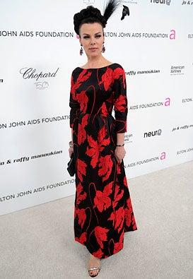 Debi Mazar - The 18th Annual Elton John AIDS Foundation Oscar party, March 7, 2010