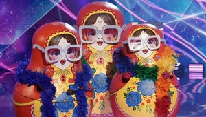 The Masked Singer's Russian Dolls Explain How They Squeezed 3 People in One Costume