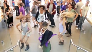 VIDEO: Lemonade Mouth Star Surprises Apple Store With Flash Mob Performance