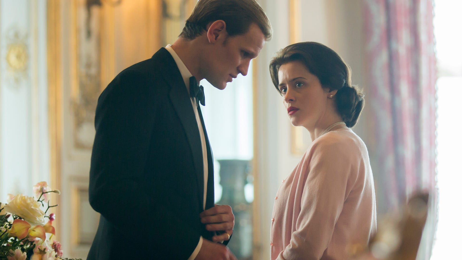 Matt Smith and Claire Foy, The Crown