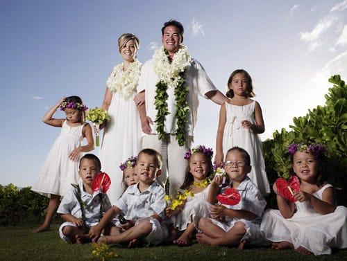 Jon & Kate Plus 8 - Season 4 - Gosselin family in Hawaii