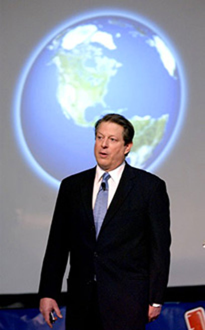 Al Gore - Global Warming presentation, May 2004