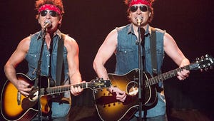 """VIDEO: Jimmy Fallon and Bruce Springsteen Spoof Chris Christie in """"Born to Run"""" Parody"""