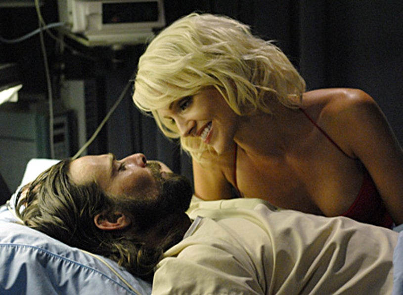 "Battlestar Galactica - Season 3 - ""Taking a Break From All Your Worries"" - James Callis and Tricia Helfer"