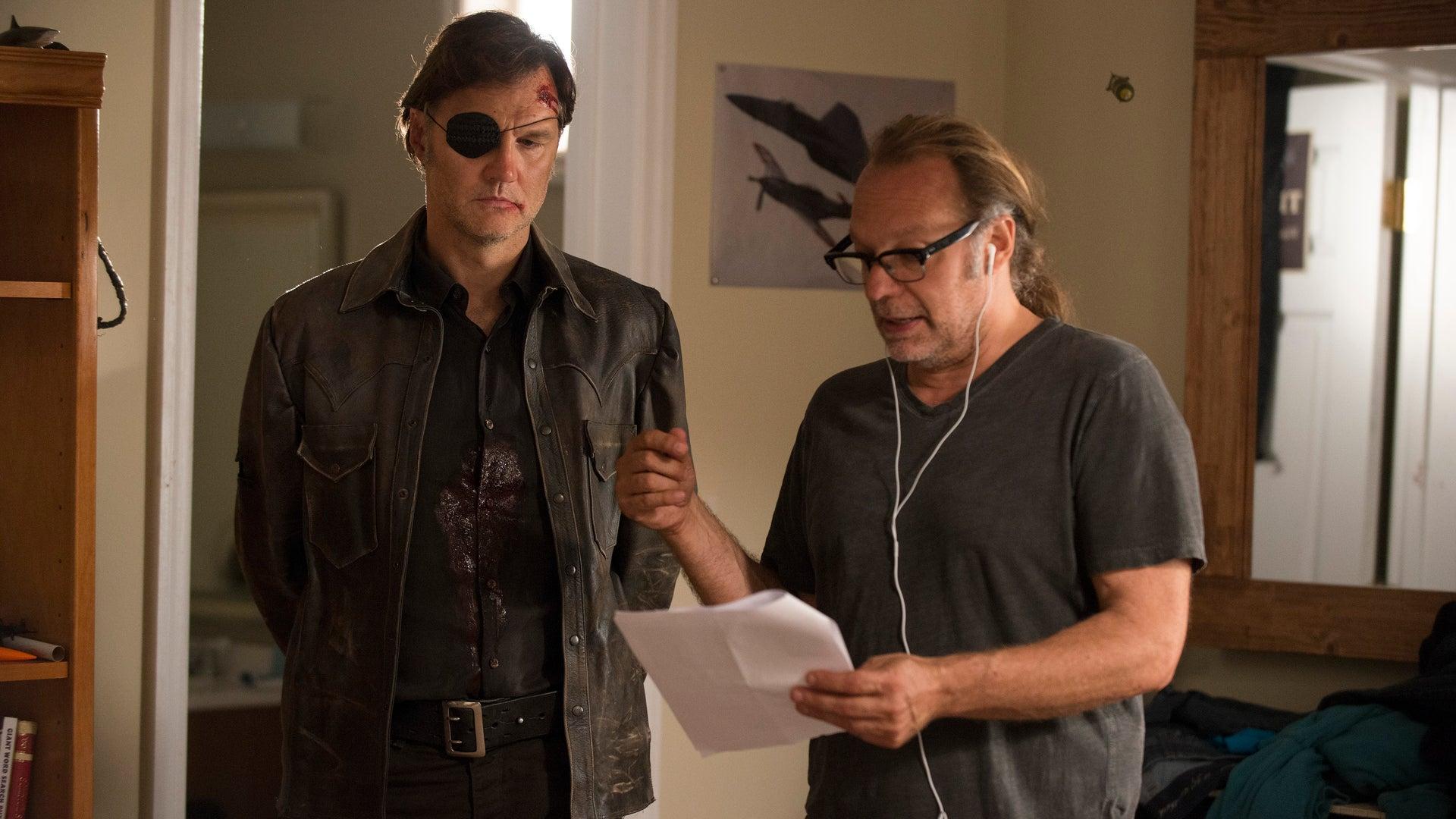 David Morrissey and Greg Nicotero, The Walking Dead