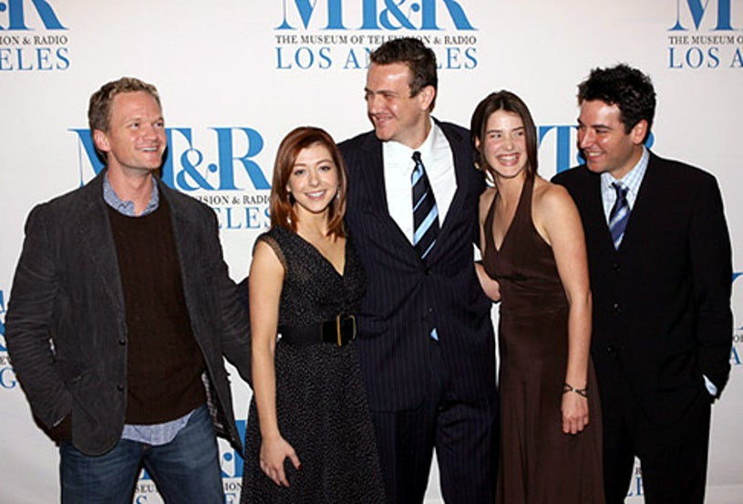 """Neil Patrick Harris, Alyson Hannigan, Jason Segel, Cobie Smulders and Josh Radnor - """"How I Met Your Mother"""" at the William S. Paley Televsion Festival, March 13, 2006"""