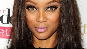 Tyra Banks Looks Barely Recognizable in Photo Emulating Kate Moss