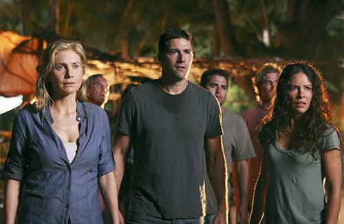 """Lost - Season 4 - """"Cabin Fever"""" - Elizabeth Mitchell, Matthew Fox, Evangeline Lilly"""
