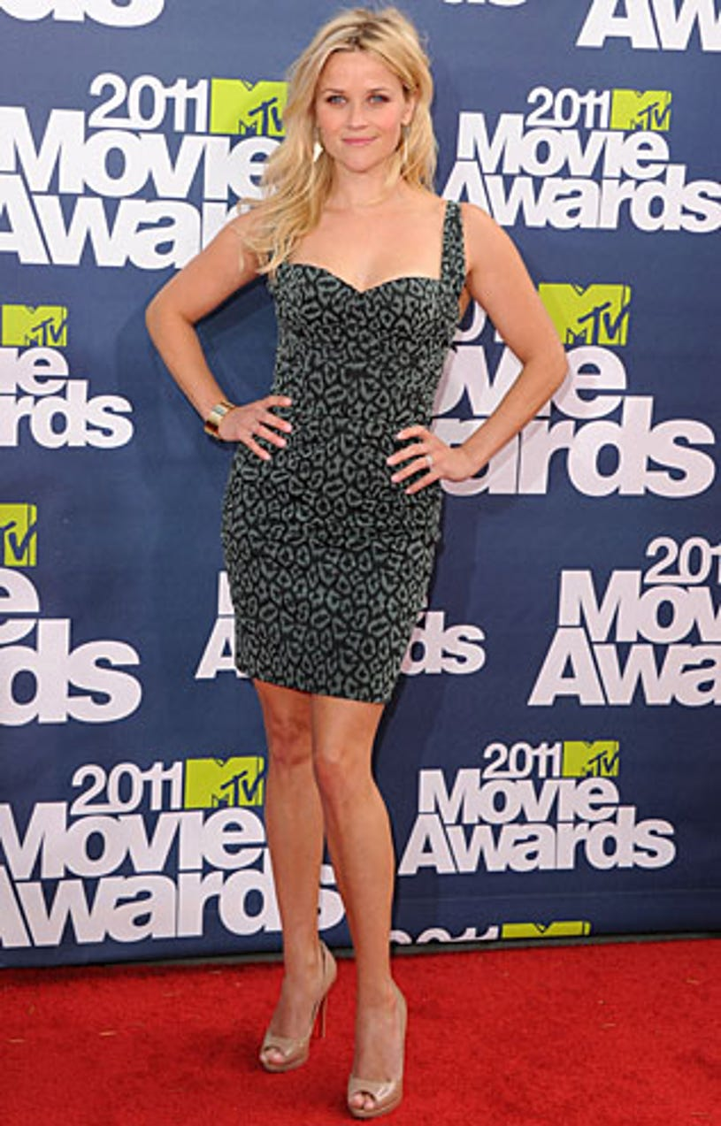 Reese Witherspoon - The 2011 MTV Movie Awards, June 5, 2011