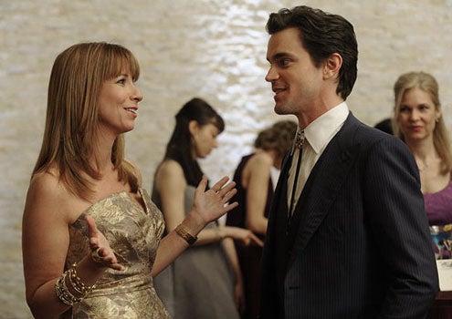 "White Collar - Season 3 - ""Veiled Threat"" - Jill Zarin as Jill and Matt Bomer as Neal Caffrey"