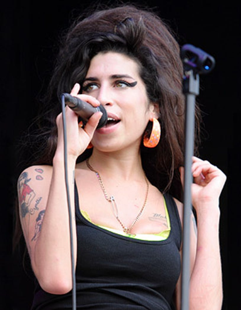 Amy Winehouse  - The 2nd Annual Virgin Festival in Maryland, August 4, 2007