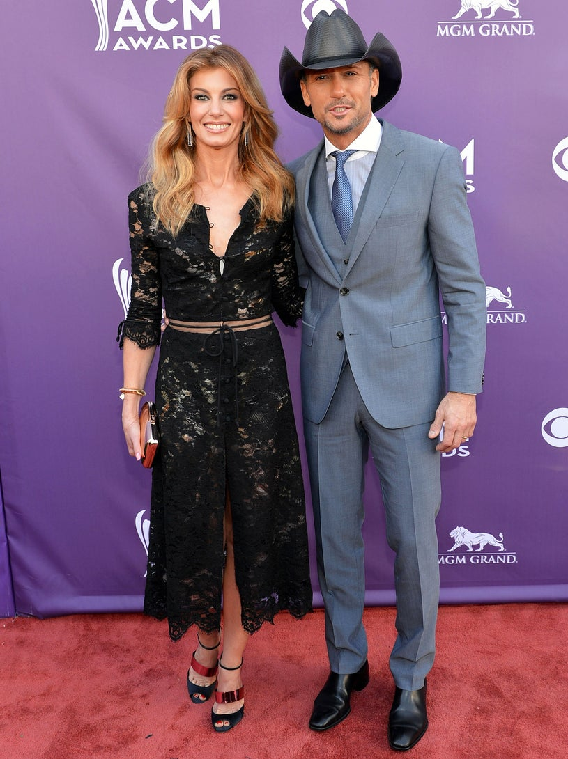Faith Hill and Tim McGraw - the 48th Annual Academy of Counrty Music Awards in Las Vegas, Nevada, April 7, 2013
