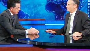 VIDEO: Stephen Colbert Tells Jon Stewart Why He's Moving On