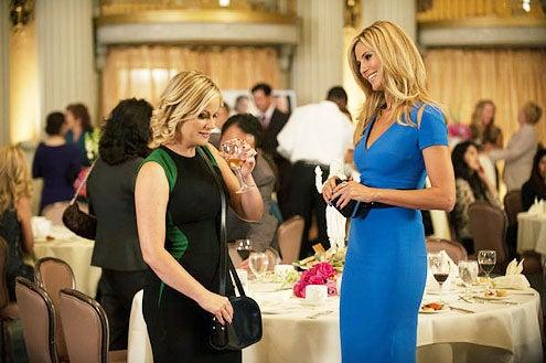 "Parks and Recreation - Season 6 - ""London"" - Amy Poehler and Heidi Klum"