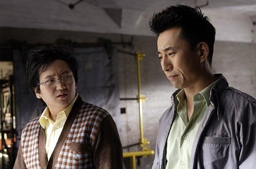 "Heroes - ""Distractions"" - Masi Oka as Hiro Nakamura, James Kyson Lee as Ando Masahashi"