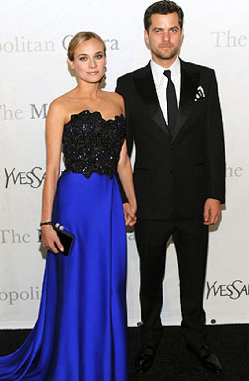 Diane Kruger and Joshua Jackson - The Metropolitan Opera's 125th anniversary gala  at Lincoln Center in New York City, March 15, 2009