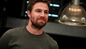 Stephen Amell Says Oliver Is 'Flabbergasted' Over that Shocking Arrow Reunion
