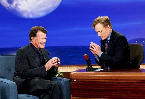 Conan - John Noble and Conan O'Brien
