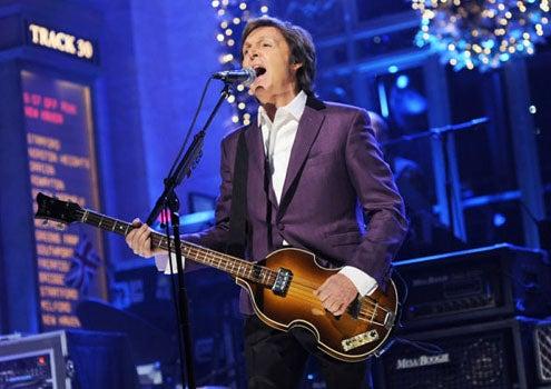 "Saturday Night Live - Season 36 - ""Paul Rudd"" - Paul McCartney"