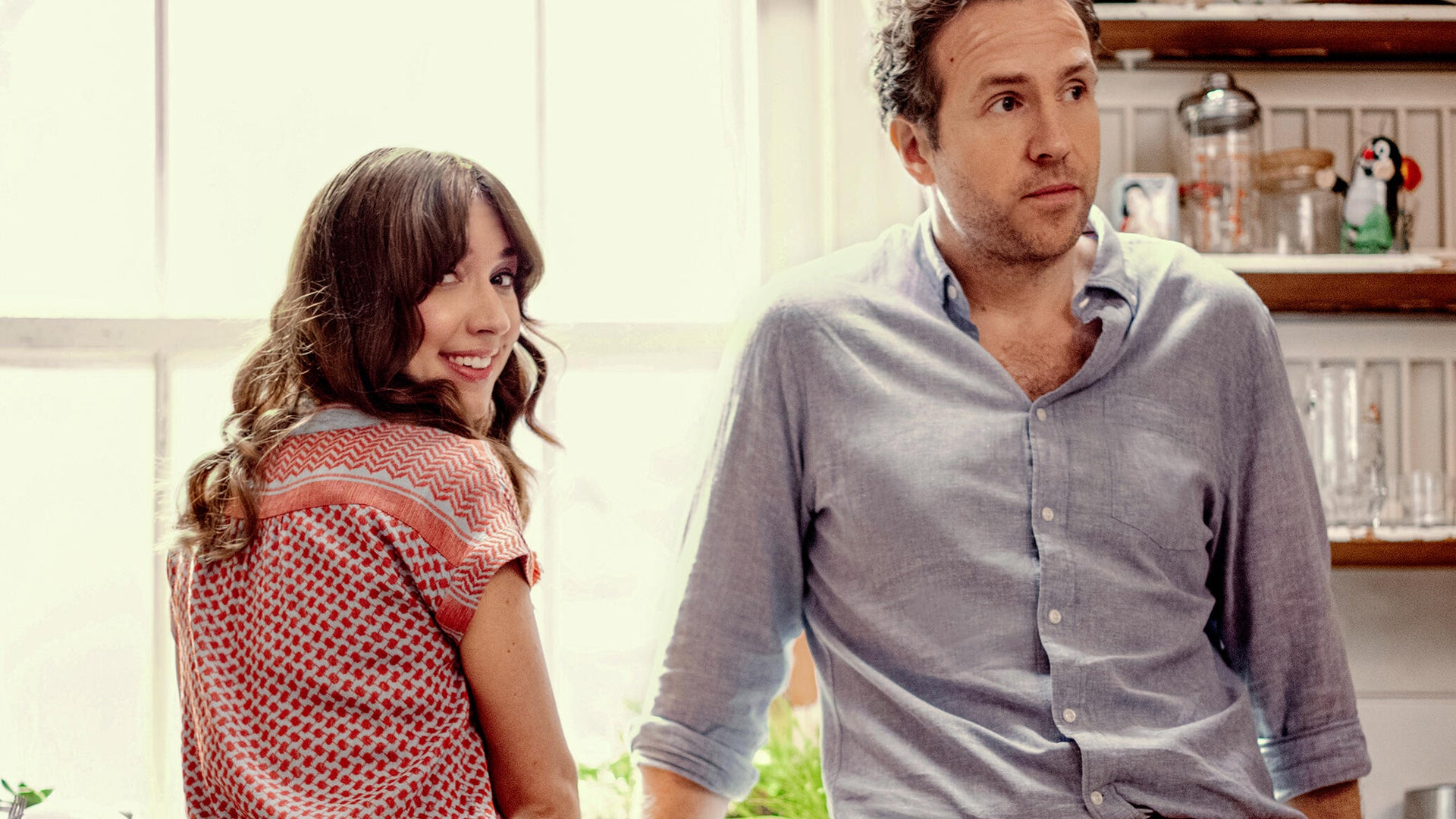 Esther Smith and Rafe Spall, Trying