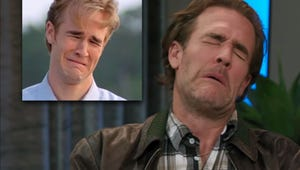 James Van Der Beek Recreated His Iconic Dawson's Creek Cry Face for Tig Notaro