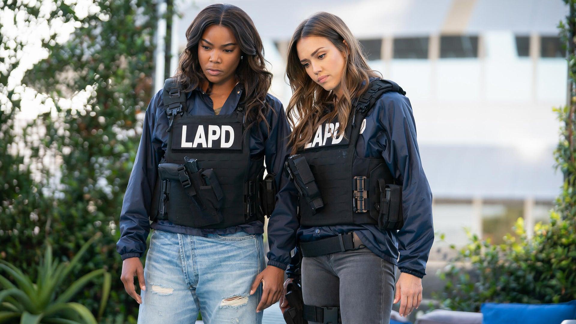 Gabrielle Union and Jessica Alba, L.A.'s Finest