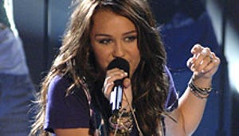 Miley Cyrus: She Sings, She Hosts, She Dances