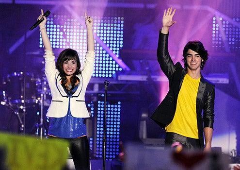 Disney Channel Games - Demi Lovato and Joe Jonas perform at the Disney Channel Games Concert in Lake Buena Vista, Florida