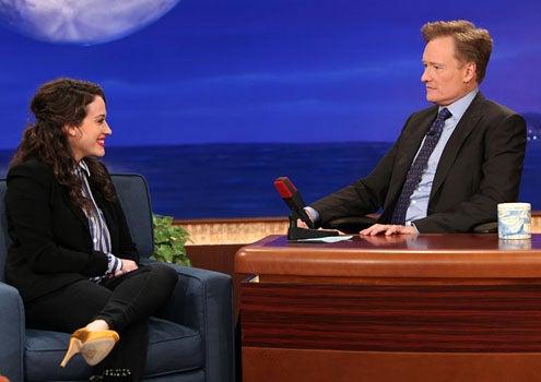 Conan - Season 1 - Kat Dennings and Conan O'Brien