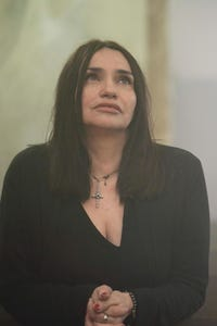 Beatrice Dalle as Blind Woman