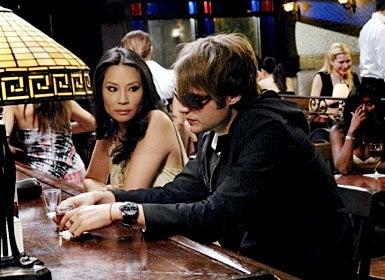 """Dirty Sexy Money - Season 2, """"The Birthday Present"""" - Lucy Liu as Nola Lyons, Seth Gabel as Jeremy Darling"""