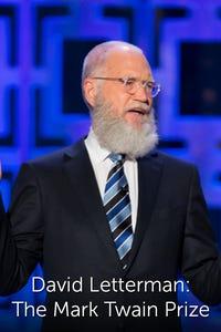 David Letterman: The Mark Twain Prize