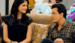 Exclusive Anger Management DVD Clip: Charlie Sheen and Selma Blair's Flirtatious Chemistry