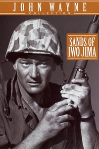 Sands of Iwo Jima as Pfc. Shipley