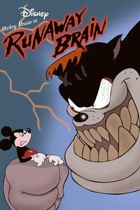 Runaway Brain as Mickey Mouse