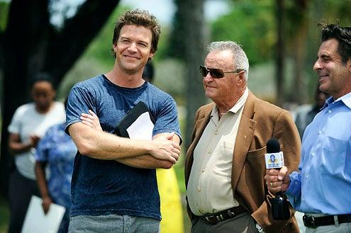 "The Glades - Season 1 - ""'Mucked Up"" - Matt Passmore as Jim Longworth and Bobby Bowden"