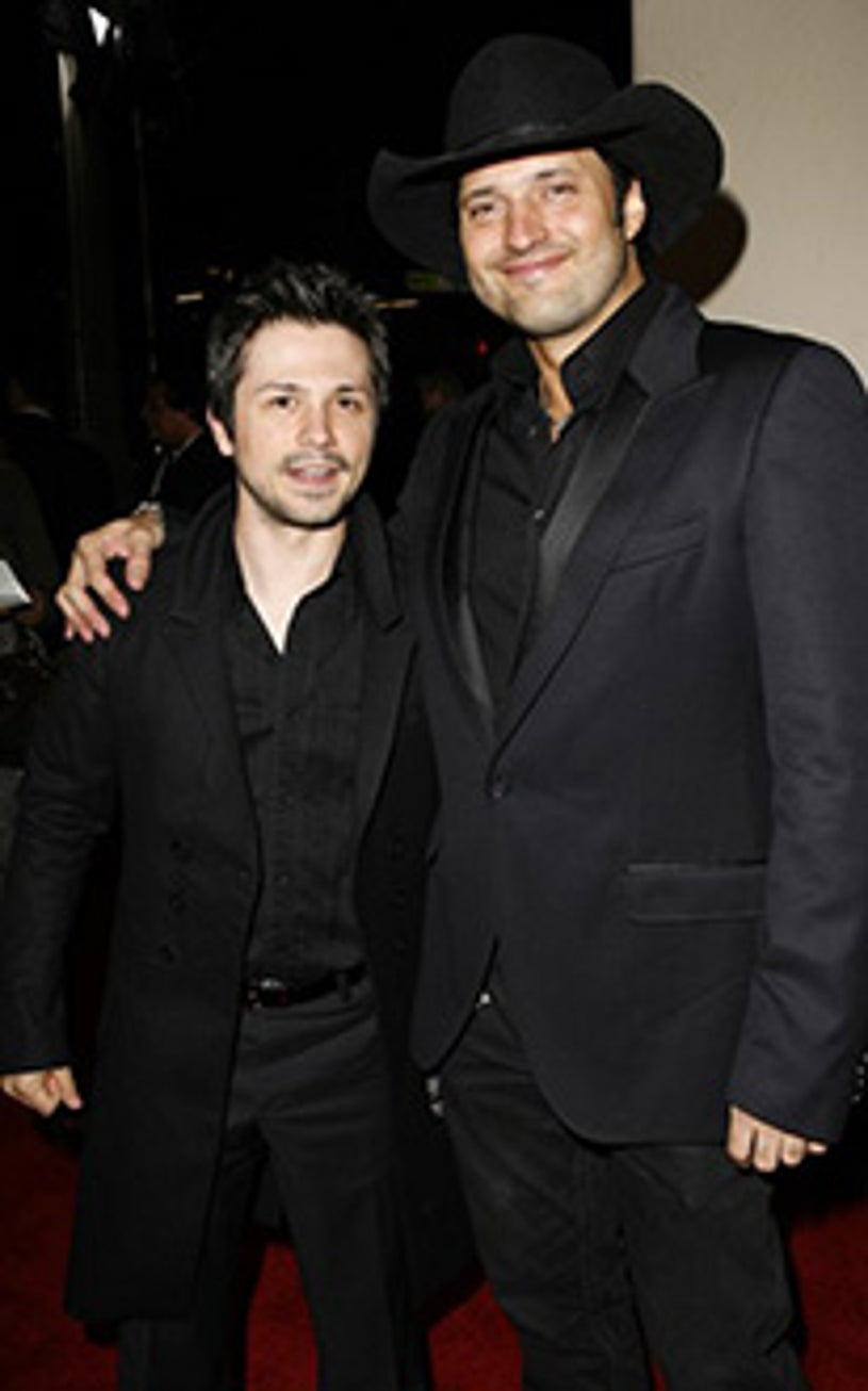"""Freddy Rodriguez and Robert Rodriguez - """"Grindhouse"""" premiere, March 2007"""