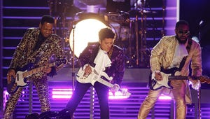 Celebs Loved Bruno Mars' Grammys Tribute to Prince