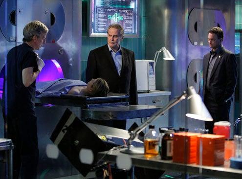 "CSI: NY - Season 8 - ""Flash Pop"" - Robert Joy, Gary Sinise, Lee Majors"