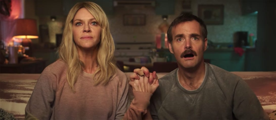 Kaitlin Olson and Will Forte, Flipped