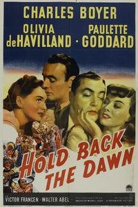 Hold Back the Dawn as Mr. MacAdams