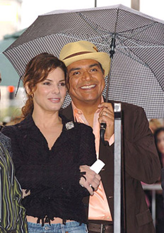 Sandra Bullock and George Lopez - 2005