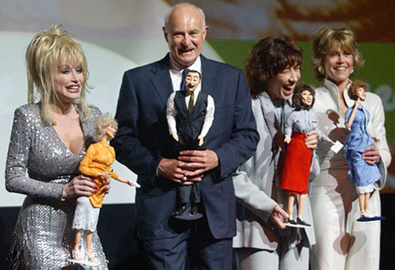 """Dolly Parton, Dabney Coleman, Lily Tomlin and Jane Fonda - G-CAPP'S  """"The Retro Premier"""" of 9 to 5"""