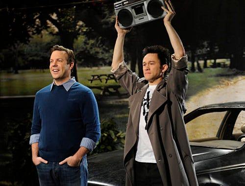 "Saturday Night Live - Season 35 - ""Joseph Gordon-Levitt"" Episode 1561 - Jason Sudeikis, Joseph Gordon-Levitt"