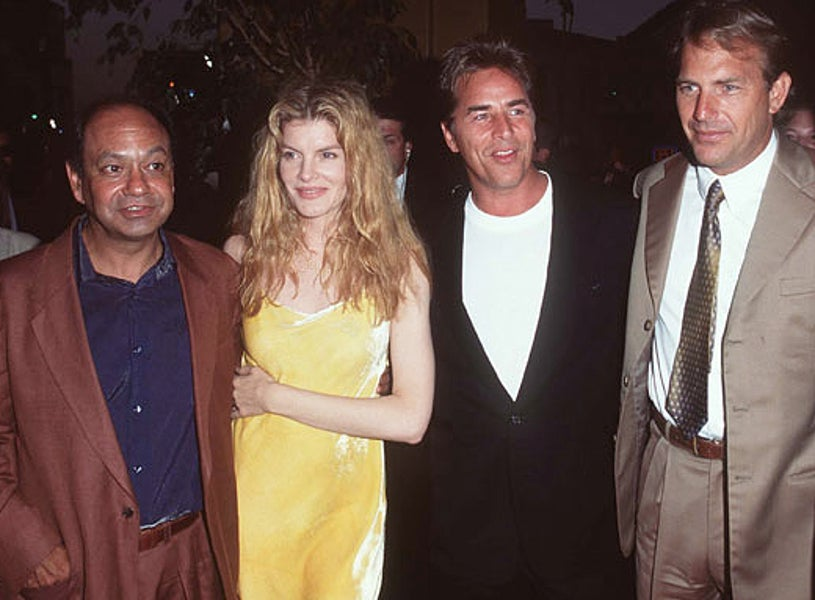 """Don Johnson, Kevin Costner, Rene Russo, & Cheech Marin - """"Tin Cup"""" Premiere - 1996"""