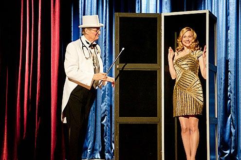 "The Big C - Season 2 - ""Musical Chairs"" - Alan Alda and Laura Linney"