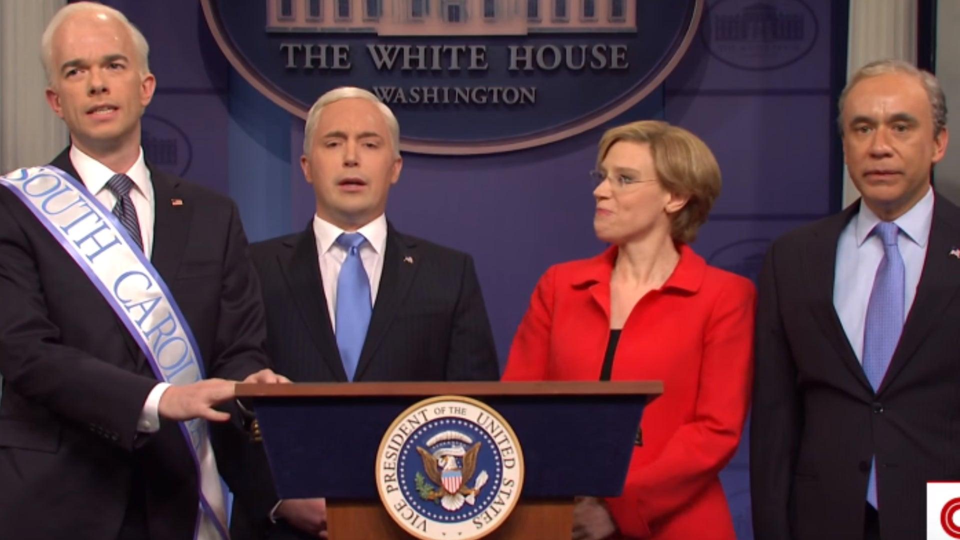 John Mulaney, Beck Bennett, Kate McKinnon, and Fred Armisen, Saturday Night Live