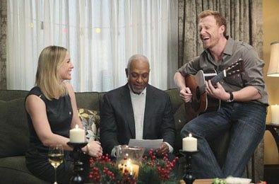 "Grey's Anatomy - Season 6 - ""Holidaze"" - Jessica Capshaw, James Picckens Jr. and  Kevin McKidd"